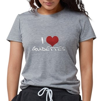 I Heart Guidettes Womens Tri-blend T-Shirt
