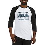 Canyonlands Blue Sign Baseball Jersey