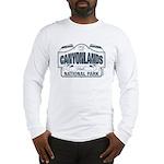 Canyonlands Blue Sign Long Sleeve T-Shirt