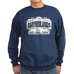 Canyonlands Blue Sign Sweatshirt (dark)