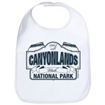 Canyonlands Blue Sign Bib