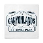 Canyonlands Blue Sign Queen Duvet