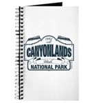 Canyonlands Blue Sign Journal