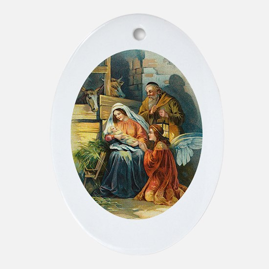 Victorian Nativity - Religious Christmas Ornament