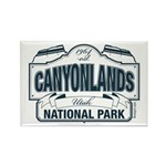 Canyonlands Blue Sign Rectangle Magnet