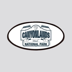 Canyonlands Blue Sign Patches
