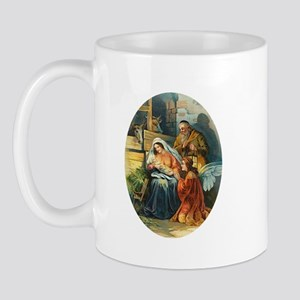 Victorian Nativity - Religious Christmas Mug