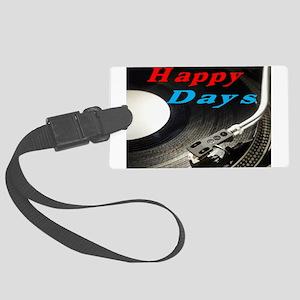 Happy Days Luggage Tag