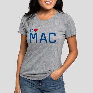 I Heart Mac Womens Tri-blend T-Shirt