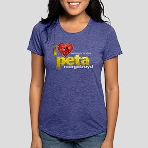 I Heart Peta Murgatroyd Womens Tri-blend T-Shirt
