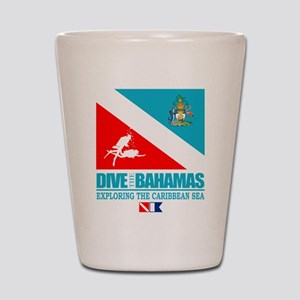 Dive Bahamas Shot Glass