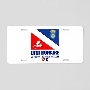 Dive Bonaire Aluminum License Plate