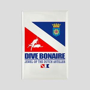 Dive Bonaire Rectangle Magnet