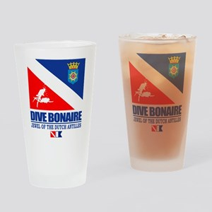 Dive Bonaire Drinking Glass