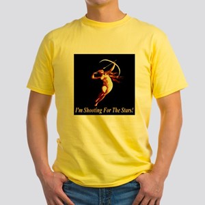 I'm Shooting For The Stars Yellow T-Shirt