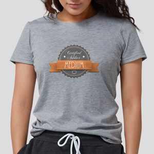 Certified Addict: Medium Womens Tri-blend T-Shirt