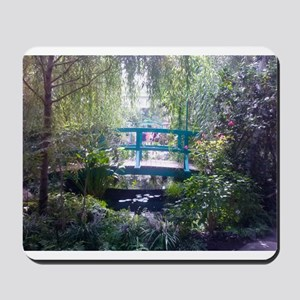 Monet Bridge Horizontal Mousepad