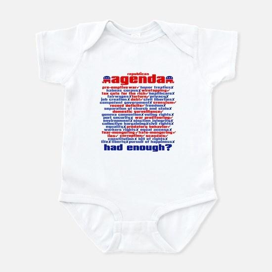 REPUBLICAN AGENDA Infant Bodysuit