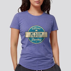 Official Medium Fanboy Womens Tri-blend T-Shirt