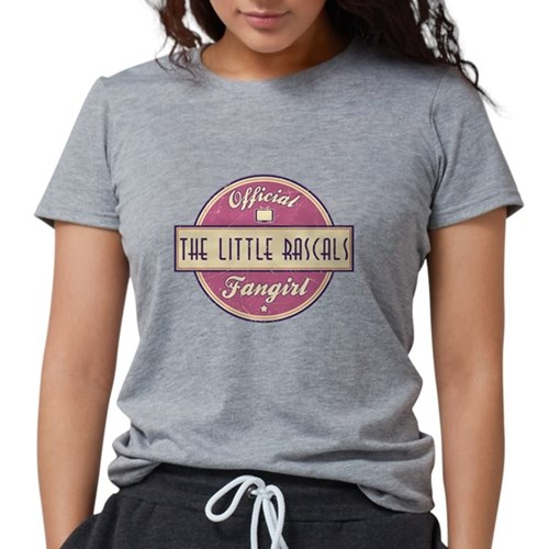 Official The Little Rascals F Womens Tri-blend T-S