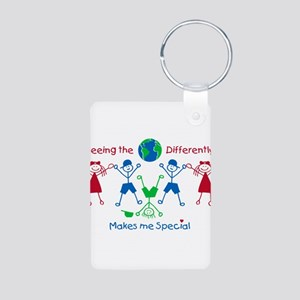 Seeing the World Differently Keychains