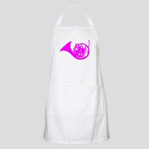 Pink French Horn Apron