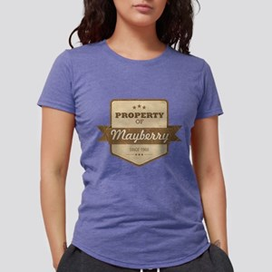 Property of Mayberry Womens Tri-blend T-Shirt