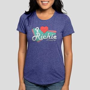 I Heart Richie Womens Tri-blend T-Shirt