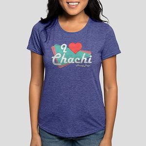 I Heart Chachi Womens Tri-blend T-Shirt