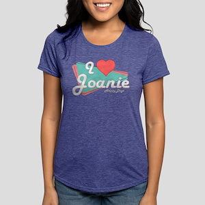 I Heart Joanie Womens Tri-blend T-Shirt