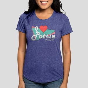 I Heart Potsie Womens Tri-blend T-Shirt