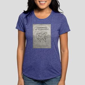 Nightmare at 20,000 Feet  Womens Tri-blend T-Shirt