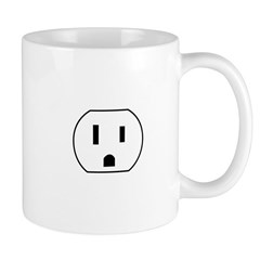 Electrical Outlet Mug