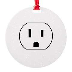Electrical Outlet Ornament