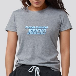 I'd Rather Be Watching Jerich Womens Tri-blend T-S