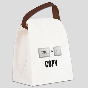 Copy Twins Canvas Lunch Bag