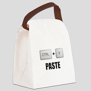 Paste Twins Canvas Lunch Bag