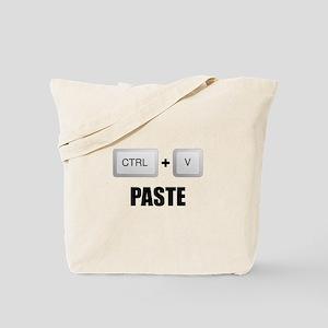 Paste Twins Tote Bag