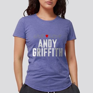 Live Love Andy Griffith Womens Tri-blend T-Shirt