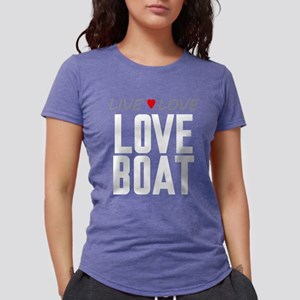 Live Love Love Boat Womens Tri-blend T-Shirt