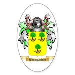 Baumgartner Sticker (Oval 10 pk)