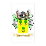 Baumgarte Sticker (Rectangle 50 pk)