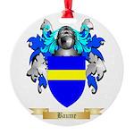 Baume Round Ornament