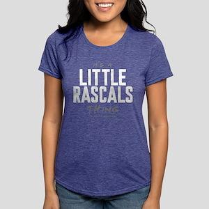It's a Little Rascals Thing Womens Tri-blend T-Shi