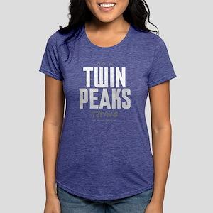 It's a Twin Peaks Thing Womens Tri-blend T-Shirt