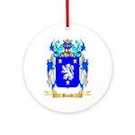 Bauld Ornament (Round)