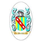 Baulch Sticker (Oval 50 pk)