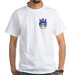 Bauerle White T-Shirt