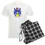 Bauerle Men's Light Pajamas