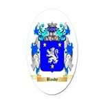 Baudy Oval Car Magnet